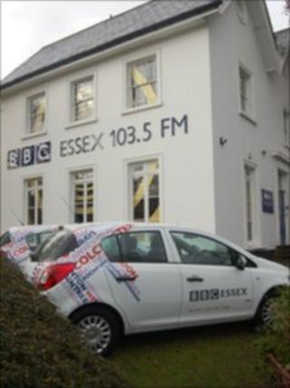 BBC Essex studios in Chelmsford