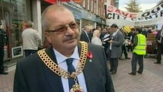 Mayor of Gloucester Councillor Andy Lewis