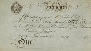 Falmouth banknote