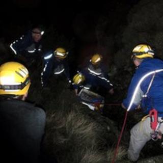 Rescue (pic courtesty of Cockermouth Mountain Rescue team)