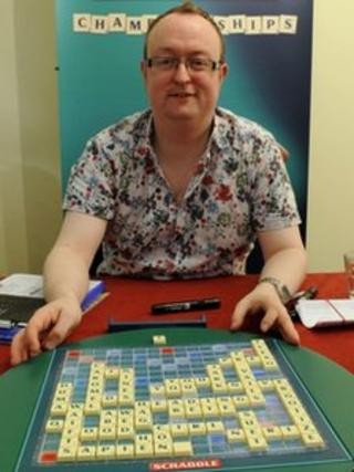 Wayne Kelly new Scrabble champion
