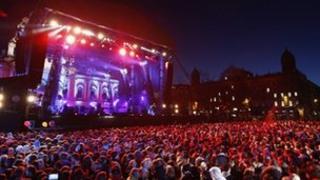 Belfast City Hall concert