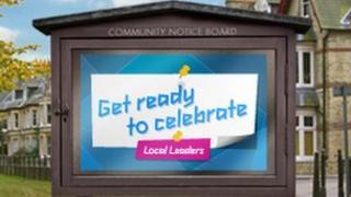 "Local Leaders ""community noticeboard advert"", image courtesy of Locog"