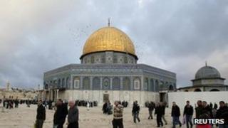 Dome of the Rock, Jerusalem 6 November 2011