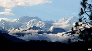 Kanchenjunga - the world's third-highest mountain