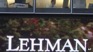 Lehman Brothers sign 15 September 2008