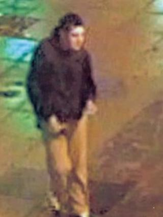 A CCTV image of one of the men. Photo: West Mercia Police