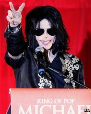 Michael Jackson file picture