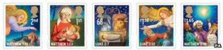 The Royal Mail's 2011 Christmas stamps