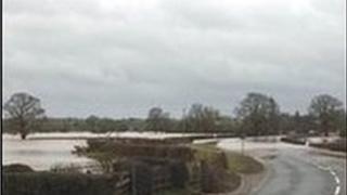 Llifogydd ym Mangor-is-y-coed