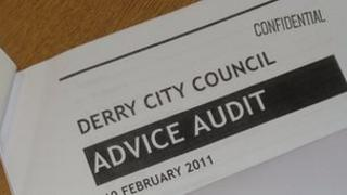 Audit by Derry City Counciil into funding of advice services