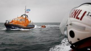 John Buchanan Barr RNLI lifeboat