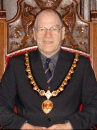 Former mayor of Appleby-in-Westmorland, Stan Rooke (2007)