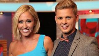 OK! TV hosts Jenny Frost and Jeff Brazier