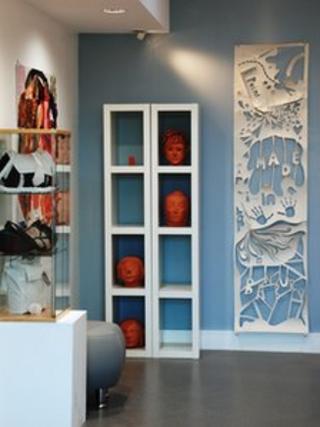 Gallery in Creative Arts building