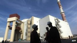 The reactor building at the Russian-built Bushehr nuclear power plant in southern Iran - 26 October 2010