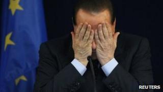Silvio Berlusconi file pic