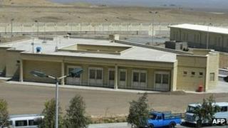 Iranian nuclear plant at Natanz (file image)