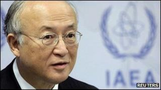 Yukiya Amano, director-general of the IAEA