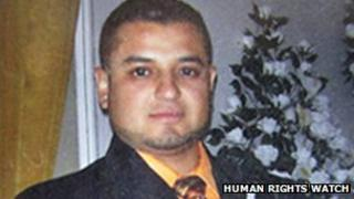 Rene Jasso who disappeared on 28 June 2011 (Photo: Human rights Watch)