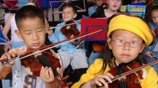 The Coda Fiddle Orchestra