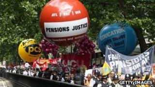 pension protest on 30 June