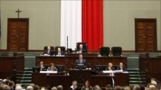 Poland's lower house of parliament