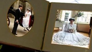 Wedding album of Nigel and Gillian Stewart