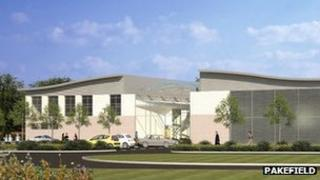 Artist's impression of the new Pakefield school, courtesy of Pakefield