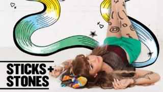 Part of Cher's Sticks and Stones album cover