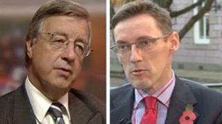 Sir Philip Bailhache and Ian Gorst