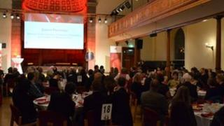 Guernsey Community Awards evening at St James