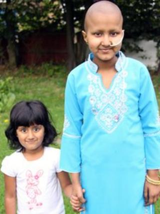 Anisah Khan and her younger sister Zahra