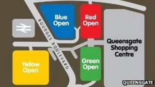 Queensgate car park plan