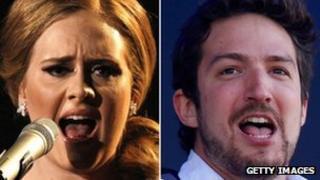 Adele and Frank Turner