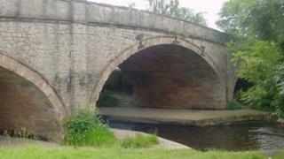 The river Elwy runs through St Asaph