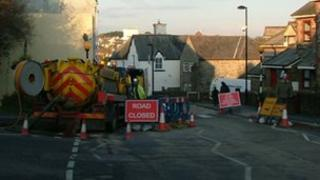 Sewer repairs in Camelford