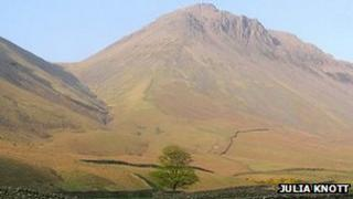 Great Gable (pic courtesy of Julia Knott)