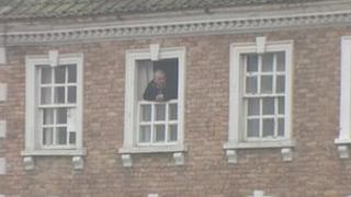 Dave Swann in his Bridgwater home on West Quay