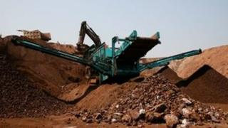 Iron ore mining in Goa