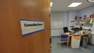 Doctor's consulting room