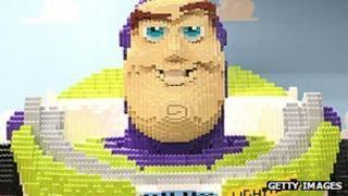 Buzz Lightyear in Lego