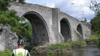 Surveying Stirling Bridge