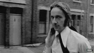 Alan Hull. BBC Look North archive footage circa 1960s