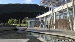 Scottish Parliament image