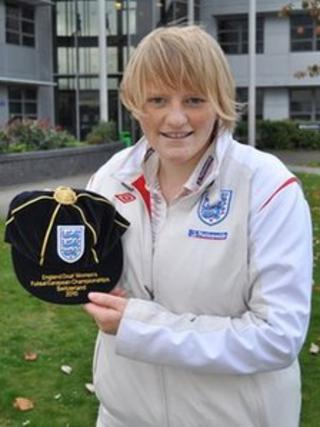 Katie Edwards, England Futsal player