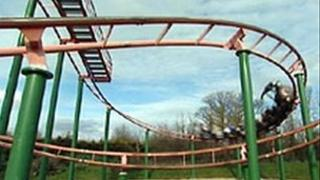Crealy rollercoaster