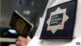 Passport inspection