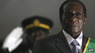 Robert Mugabe (file photo)