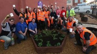 Gardeners. Photo: Redcar & Cleveland Borough Council